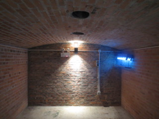 Brick Lined Room Inside Lei Yue Mun Pass Battery
