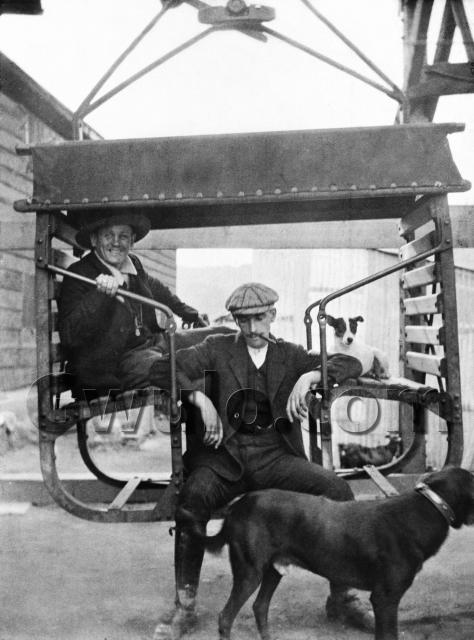 c.1908 Fly to work with the KCR !