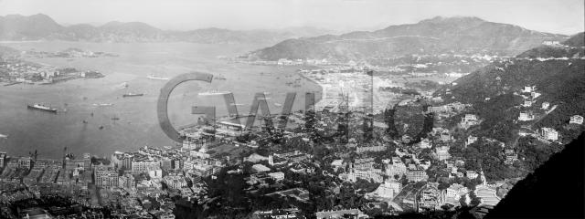 1930s Panorama from Central to Causeway Bay