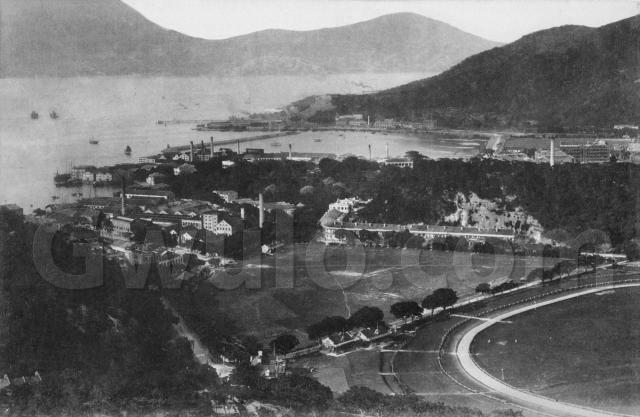c.1917 View over Happy Valley and Causeway Bay