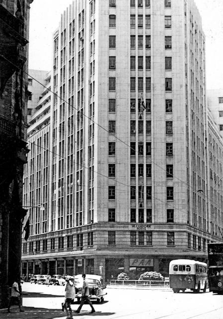 Alexandra House, Queens Road, Hong Kong - 1950's