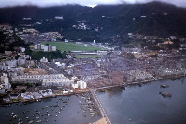 1953 Causeway Bay Aerial View