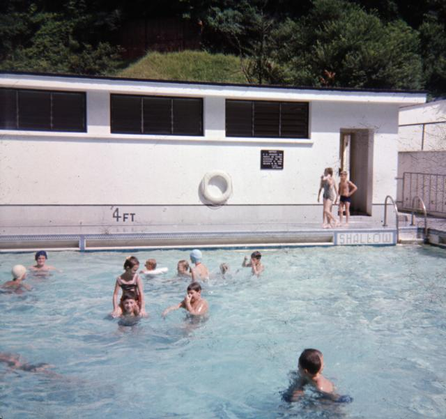 Victoria Barracks pool, mid sixties
