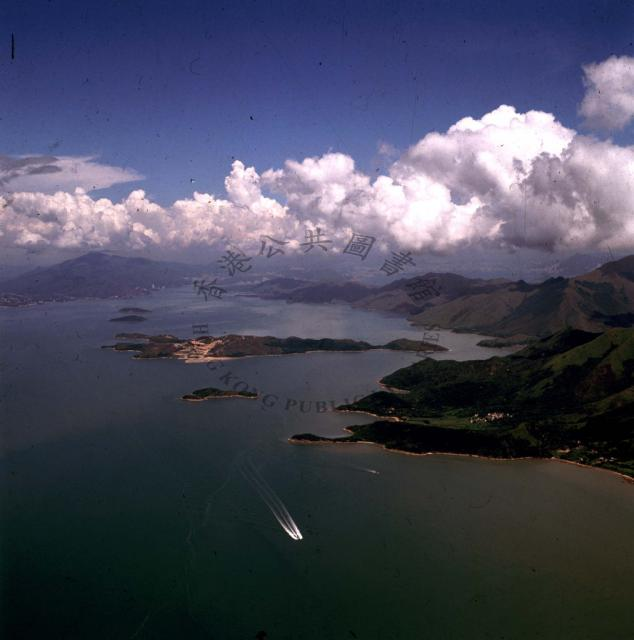 1990 The small island of Chek lap Kok is the site chosen for Hong Kong's new International Airport