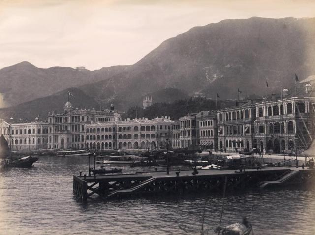 Central waterfront late 1880s
