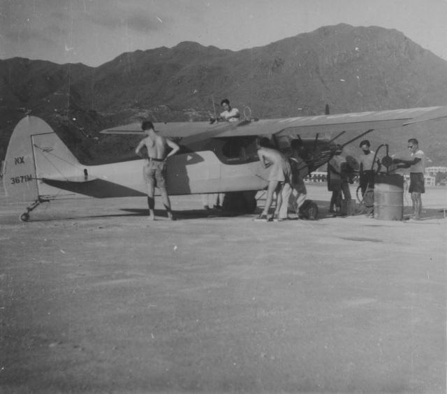1947 Piper 'Cubs' Round-the-World Flight