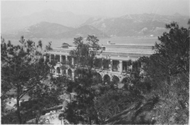 Barracks at Stonecutters Island 1938