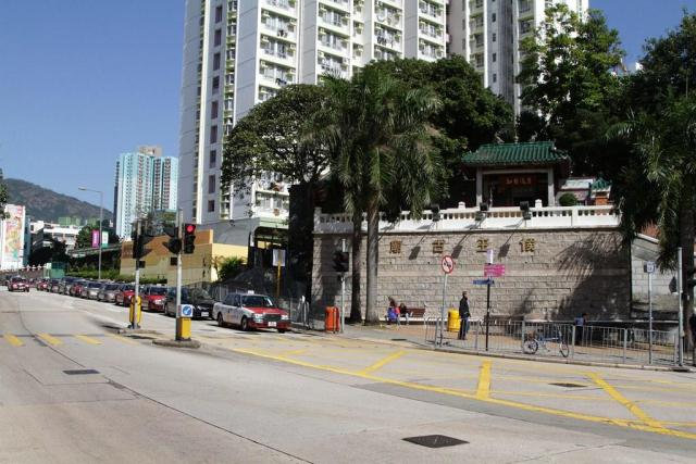 Hau Wong Temple on Junction Road
