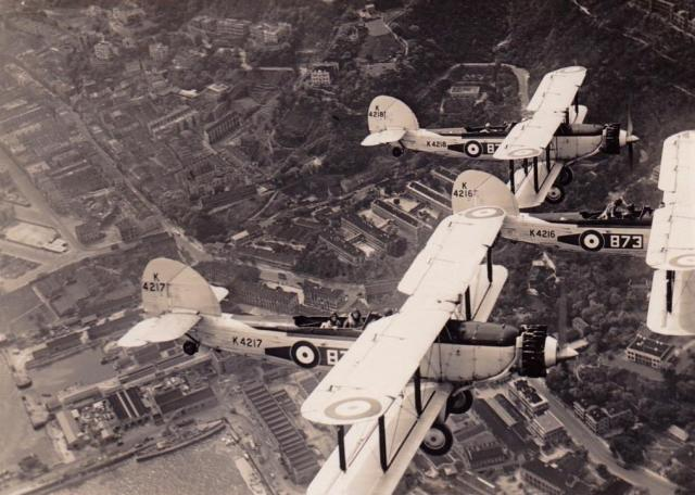 1935 Over Naval Dockyard