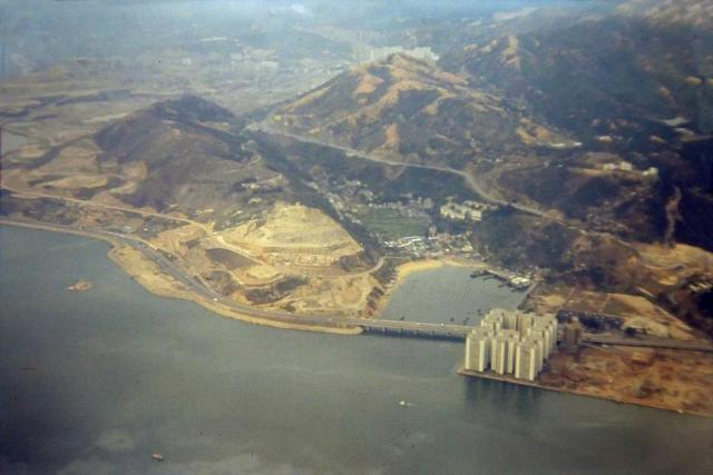 1970 Lai Chi Kok from the air