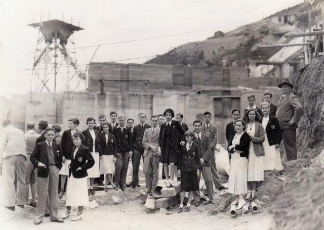 1934 Central British School Visit to Shing Mun Reservoir