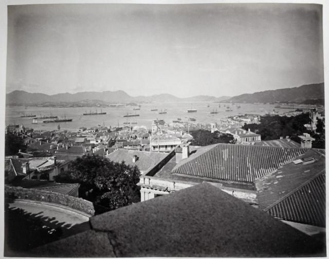 Hotz collection: Hong Kong, Town of Victoria, ca. 1870