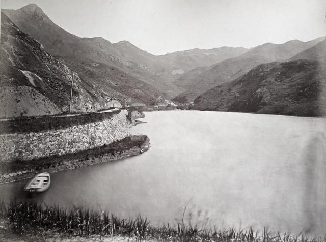Hotz collection: Hong Kong, Pokfulam Water Reservoir, ca. 1870