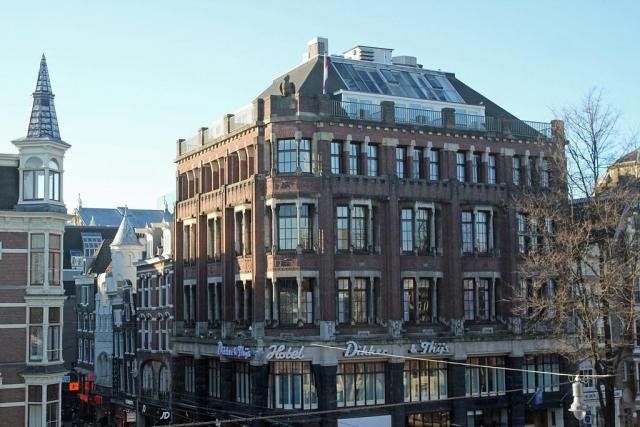 Amsterdam, Leidsestraat 82-84, former office Netherlands Harbour Works Co.