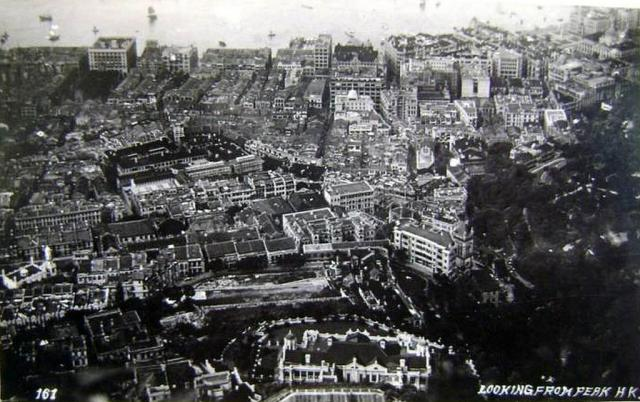 Central from Peak c.1931