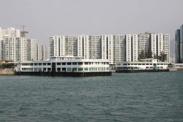 Ferry piers at Hung Hom