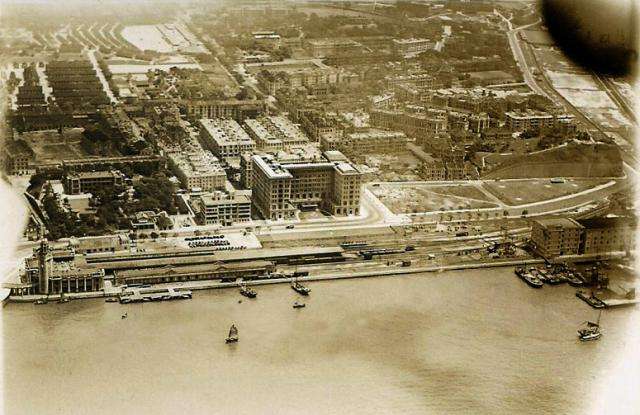 1931 Aerial view of TST