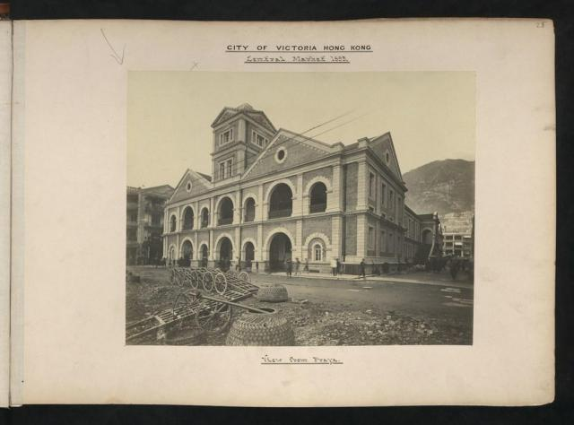 Central Market (from Praya) 1895