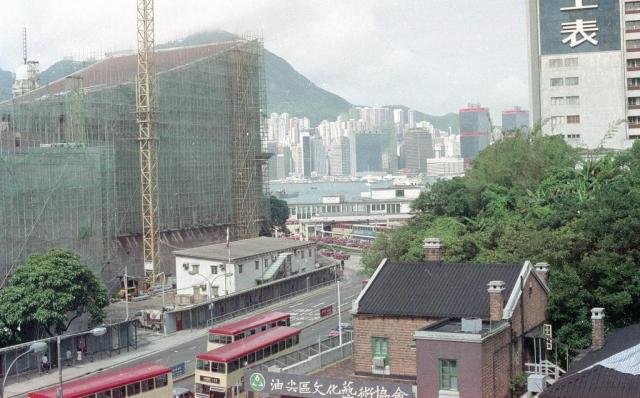 View from YMCA, TST