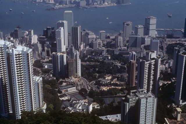HK view, Oct. 1981