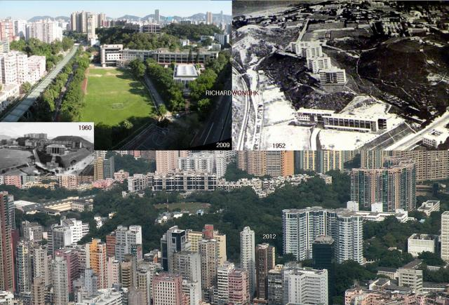 Wah Yan College Kowloon and King's Park 1952-2012