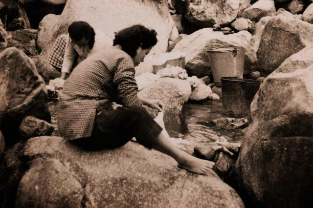 Wash Day in the NT - 1953/54