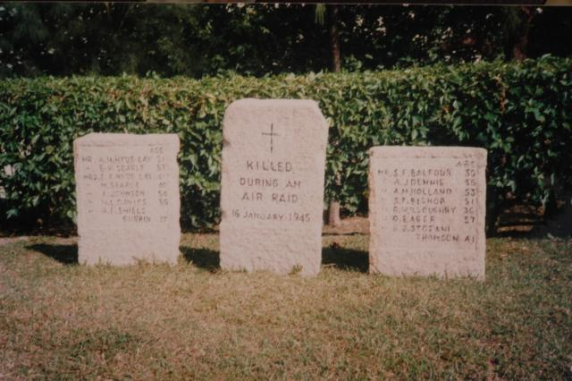 Stanley Military Cemetery - 1945 Air Raid Victims