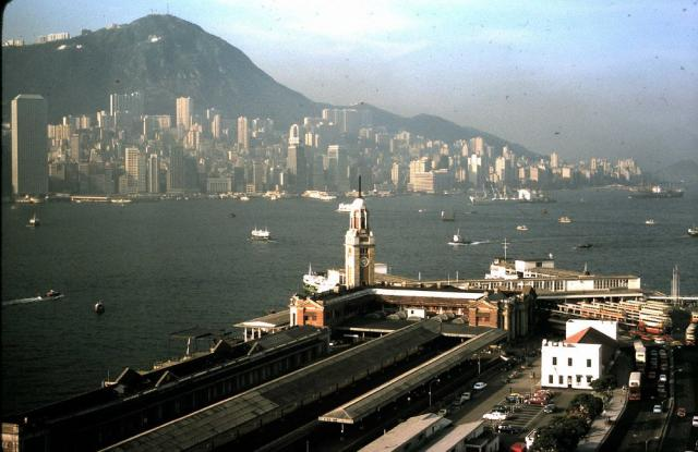 Another photo of the old Kowloon Station, 1974
