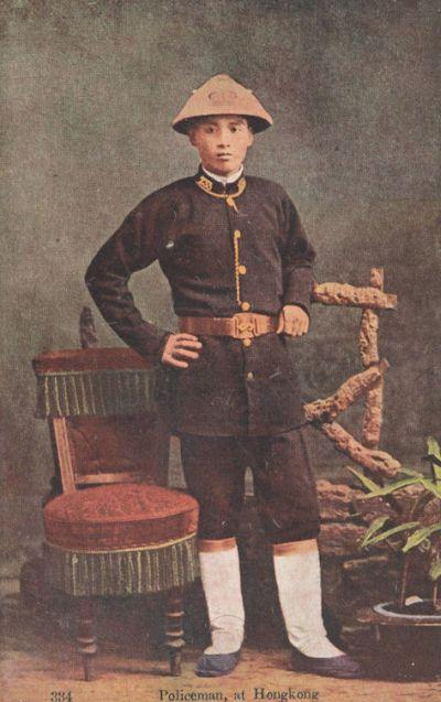 1900s Chinese Policeman