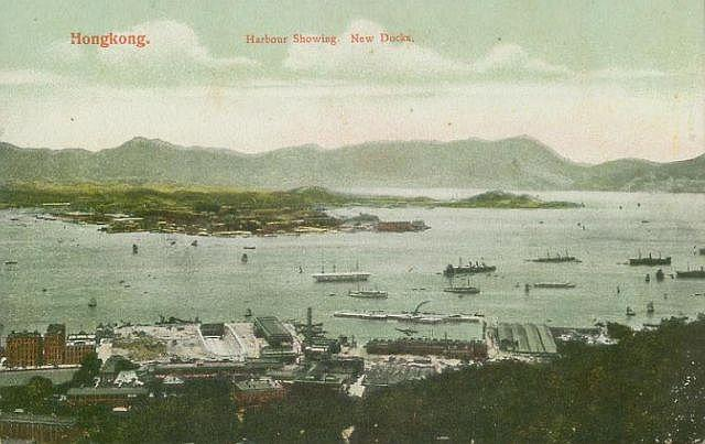 1910s Royal Naval Dockyard