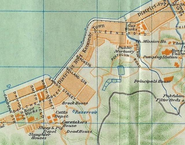 1920s Kennedy Town Map