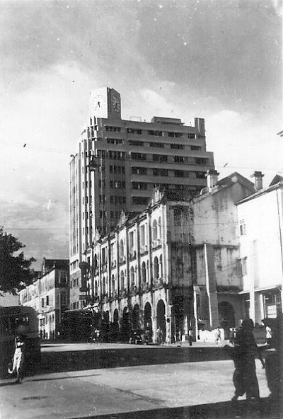 1940s Hk Telephone Building Gwulo Old Hong Kong