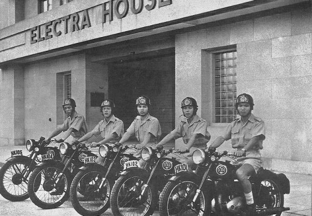 1954 Cable & Wireless Motorcycles