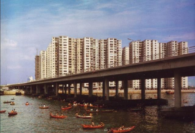 1960s Lai Chi Kok Bay Bridge