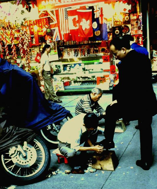 Shoeshine - Central Alleyway, 1999