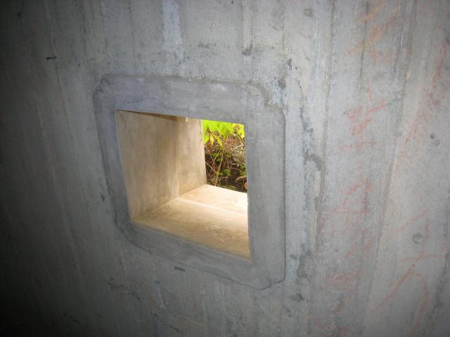 Luk Keng pillboxes - Command Post