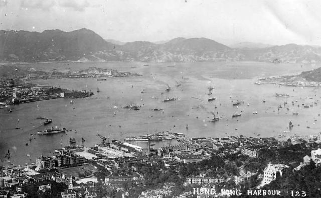 1920s Central and Harbour looking East