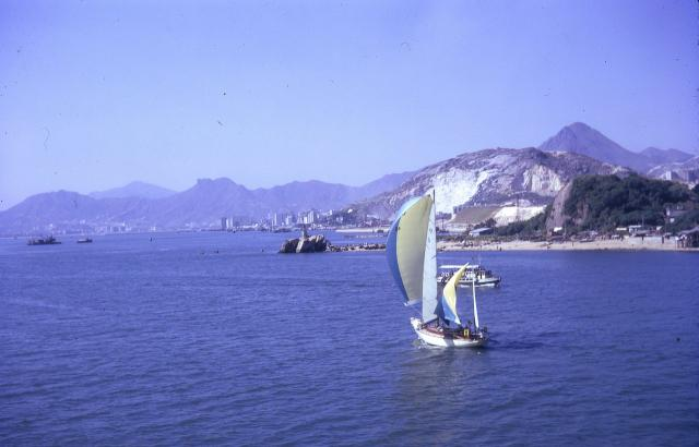 1966 Entering HK Harbour from the East