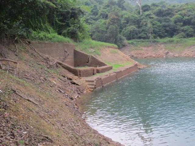 Temporary Pump House in Tai Tam Valley