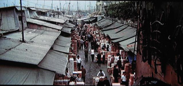 Enter the Dragon - opening credits market