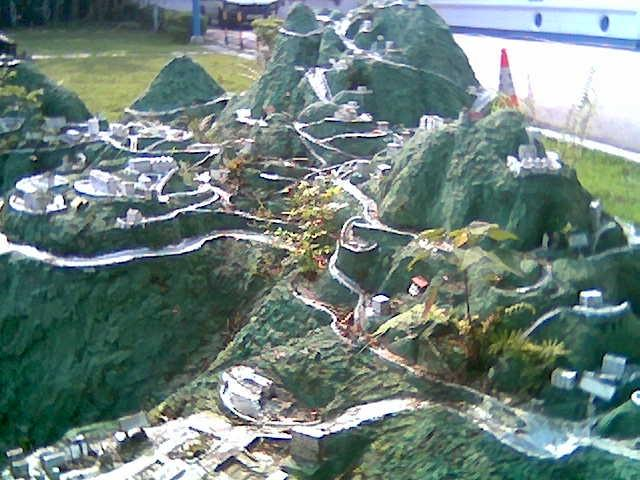 Model of the Peak District - Model
