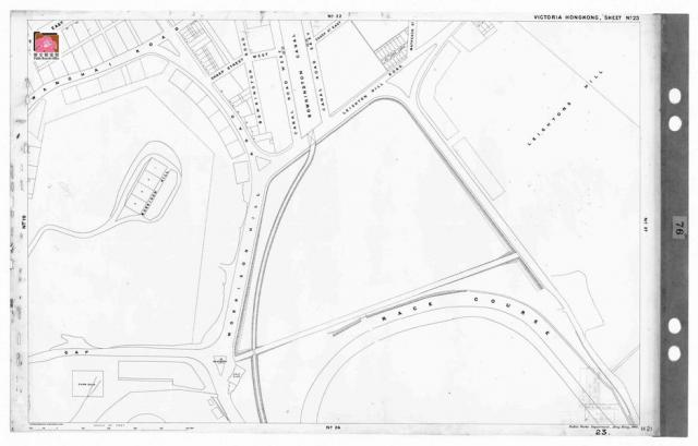 1901 Map - sheet 23 - Happy Valley - Leighton Hill & Morrison Hill