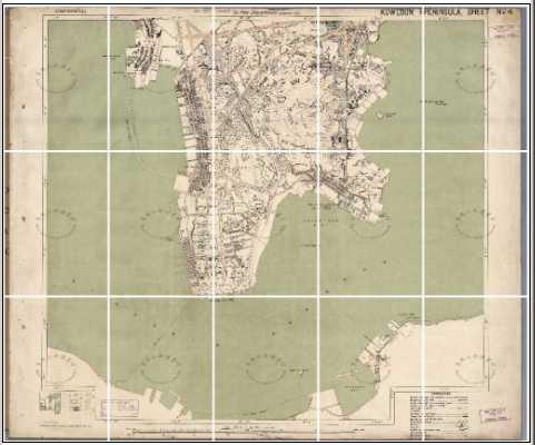 Kowloon Map - 1924