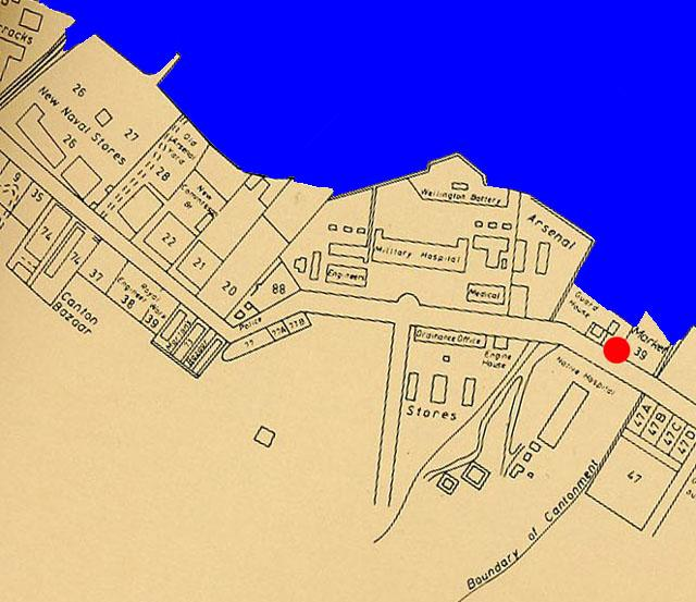 Map 1856 - Admiralty
