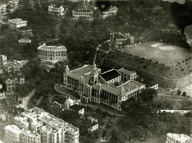 HKU from the air, taken by Kenneth, Jan 1933