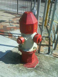 Old style fire hydrant - corner of Ho Tung Rd and Boundary St