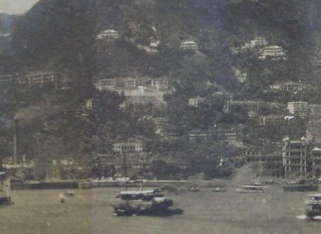 Bowen Rd from the Harbour c.1912-27