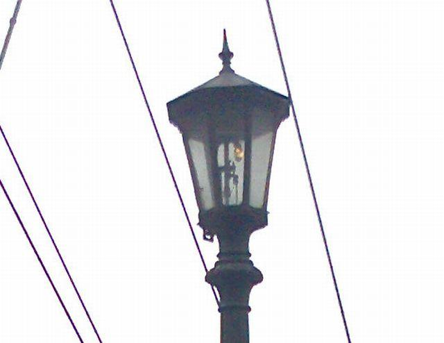 Former Marine Police HQ Gas Lamp Post (Blow Up)