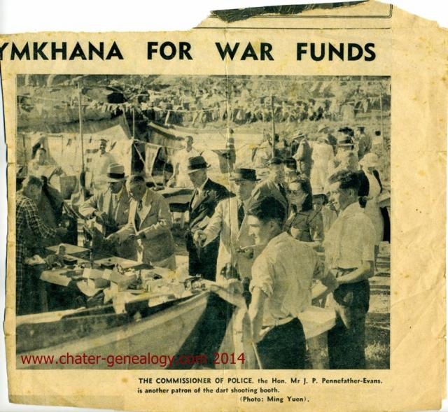 Polo Gymkhana 1 November 1940 Fund Raising for War Effort