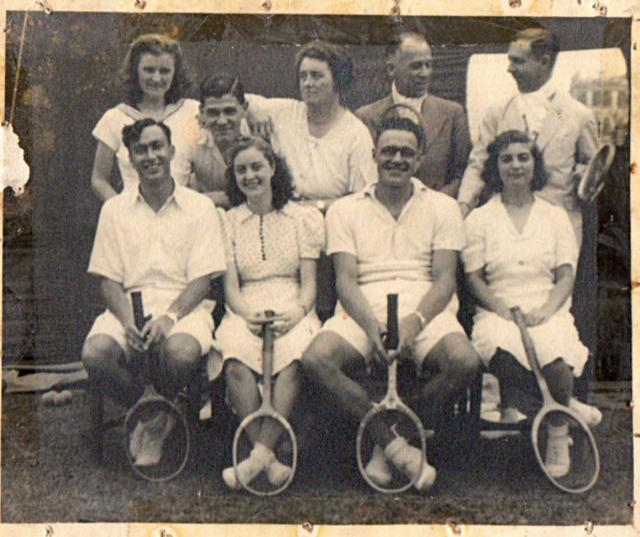 1941 Tennis at Civil Service Club